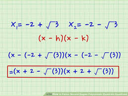 6 ways to factor second degree polynomials quadratic equations image titled solve higher degree polynomials step 3