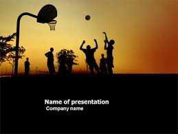 Basketball Powerpoint Template Street Basketball Presentation Template For Powerpoint And Keynote