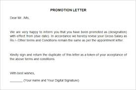 Congratulations on Promotion   Template   Sample Form   Biztree com Sales Promotion Letter