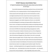 the cold war essay how did the cold war began essay international  we promised to write two awesome term papers for our readers in here you go josh essay on the cold war