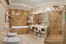 Bathroom Luxury Marble Bathroom - Luxury apartments bathrooms