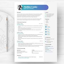 Graphic Resume Template With Photo Cv Template Cover Letter Digital Artist Cv Professional And Creative Resume Ms Word Resume