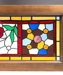 stained glass window frame alternative views metal late in art round with wood