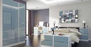 white and grey bedroom furniture. Monaco High Gloss Grey And White Bedroom Furniture