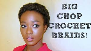 Short Crochet Hair Style big chop crochet braids protective styling with kanekalon hair 6609 by wearticles.com