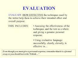 int critical essays purpose of the critical essay a discursive 7 evaluation