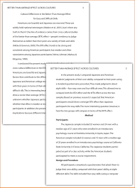 apa style example essay co apa style example essay