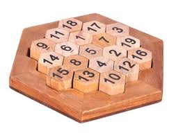 Wooden Games For Adults Delectable Aristotle's Number Puzzle Classic IQ Brain Teaser Logic Wooden