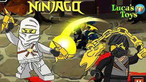 Lego Ninjago Spinjitzu snakedown fighting game Zane and Cole vs snakes l...    Ninjago, Ninjago spinjitzu, Online games for kids