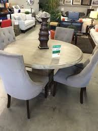 round light wood 5 pc dining set for in fountain valley ca