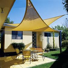 deluxe uv top sun shade sail uv top outdoor canopy patio lawn new 98 039 x98 039 x98 039