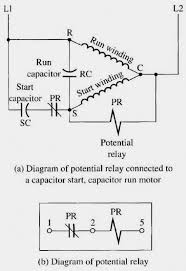 single phase motor wiring diagram with capacitor start run AC Motor Diagram at Single Phase Motor Capacitor Start Capacitor Run Wiring Diagram
