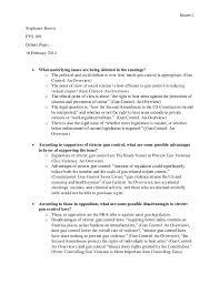 essay gun control gun control paper 2