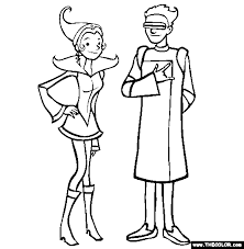 Small Picture Future Fashion Online Coloring Page