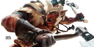 dota 2 troll warlord render by faith lv on deviantart