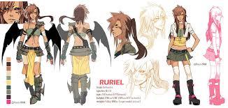 anime character design sheet. Beautiful Anime M2012 Ruriel Character Sheet By Finni  For Anime Design C