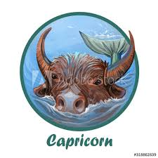 Chinese new year or spring festival 2021 falls on friday, february 12, 2021. Capricorn Metal Ox Year Horoscope Zodiac Sign Isolated Digital Art Illustration Of Chinese New Year Symbol Astrology Lunar Calendar Sign Horned Animal Capricorn Horoscope Icon Oriental Cow Buy This Stock Illustration