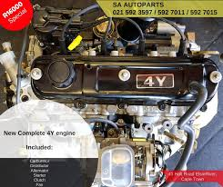 SA Autoparts ZA - Brand New Complete Toyota 4Y engines.... | Facebook