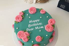 Amazing Birthday Cake For Mom With Name