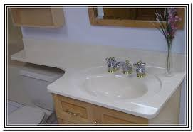 cultured marble vanity tops care