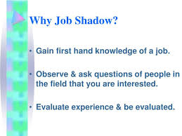 Questions To Ask At Job Shadow Ppt Job Shadowing At Nhs Powerpoint Presentation Id 426360