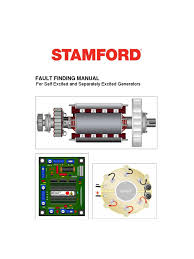 stamford genset fault finding manual voltage