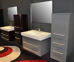 modern bathroom vanity ideas. Black And Gray Modern Bathroom Floating Vanity Ideas