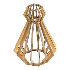 Handmade Wooden Light Shade Pendant Light Ceiling Lamp