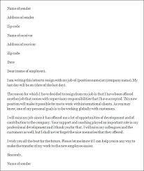 letter of job resignation  seangarrette coletter of job resignation acceptance letter resignation letter samples