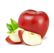 red apple slice. fresh apple slices red slice i