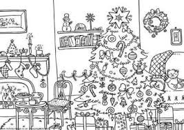 Printable Christmas Coloring Pages For Adults