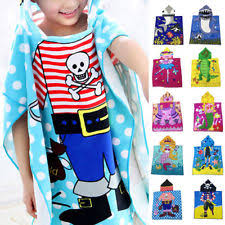 kids hooded beach towels. Baby Soft Cartoon/Disney Hooded Towel Children Swim Beach Bath Wear Kids Bathrob Towels H