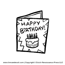 Black And White Greeting Card Greeting Card Black And White Clipart