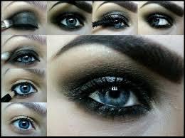 dark eye makeup tutorial gothic emo scene alternative steps makeup tutorials for blonde blue eyes