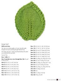 Leaf Knitting Pattern Custom Knit Leaf Coaster Pattern From The Book The Complete Photo Guide To