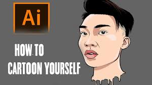how to cartoon yourself step by step ricegum tutorial adobe ilrator