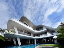 modern mansions. Curved Architecture. Modern Mansions Exmaples E