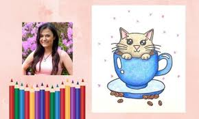 Alice vu on twitter 20 chibi commission for neppercsgo and. How To Draw Adorable Cat In A Cup Of Coffee Small Online Class For Ages 7 12 Outschool