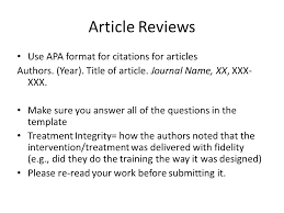 article essay review examples
