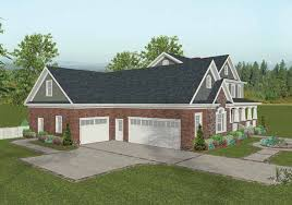 interesting house plans with attached 4 car garage images ideas