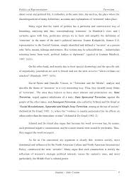 terrorism essay  4 politics of representation terrorism