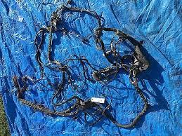 bmw e e e e m m s l v engine wire harness bmw oem e60 e61 e63 e64 m5 m6 engine wire cable harness power supply plug bay