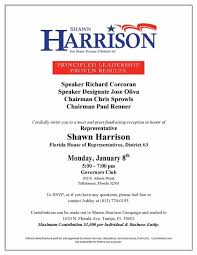 Political Fundraising Invitations Example Political Fundraiser Invitation Letter