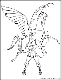 Pegasus Coloring Pages Getcoloringpagescom