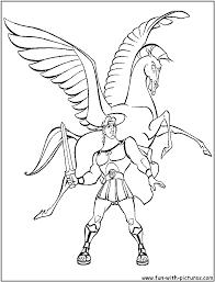 Pegasus Coloring Pages Getcoloringpagescom