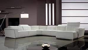 divani casa tempo large sectional sofa