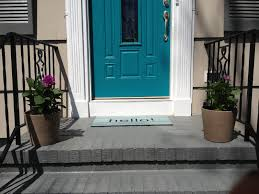 what color to paint front door 2Retro Ranch Reno Front Porch Painting  Quick Update