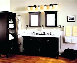 lighting for bathroom vanity. Outdoor Furniture Modern Bathroom Vanity Black Wood Rectangular With  Image Top Ing Lighting For Bathroom Vanity