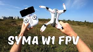 <b>Квадрокоптер Syma W1</b> ... Впервые на БК моторах! 2 камеры ...