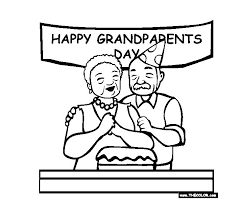 Printable grandparents day cards by canva. Free Printable Grandparents Day Coloring Pages